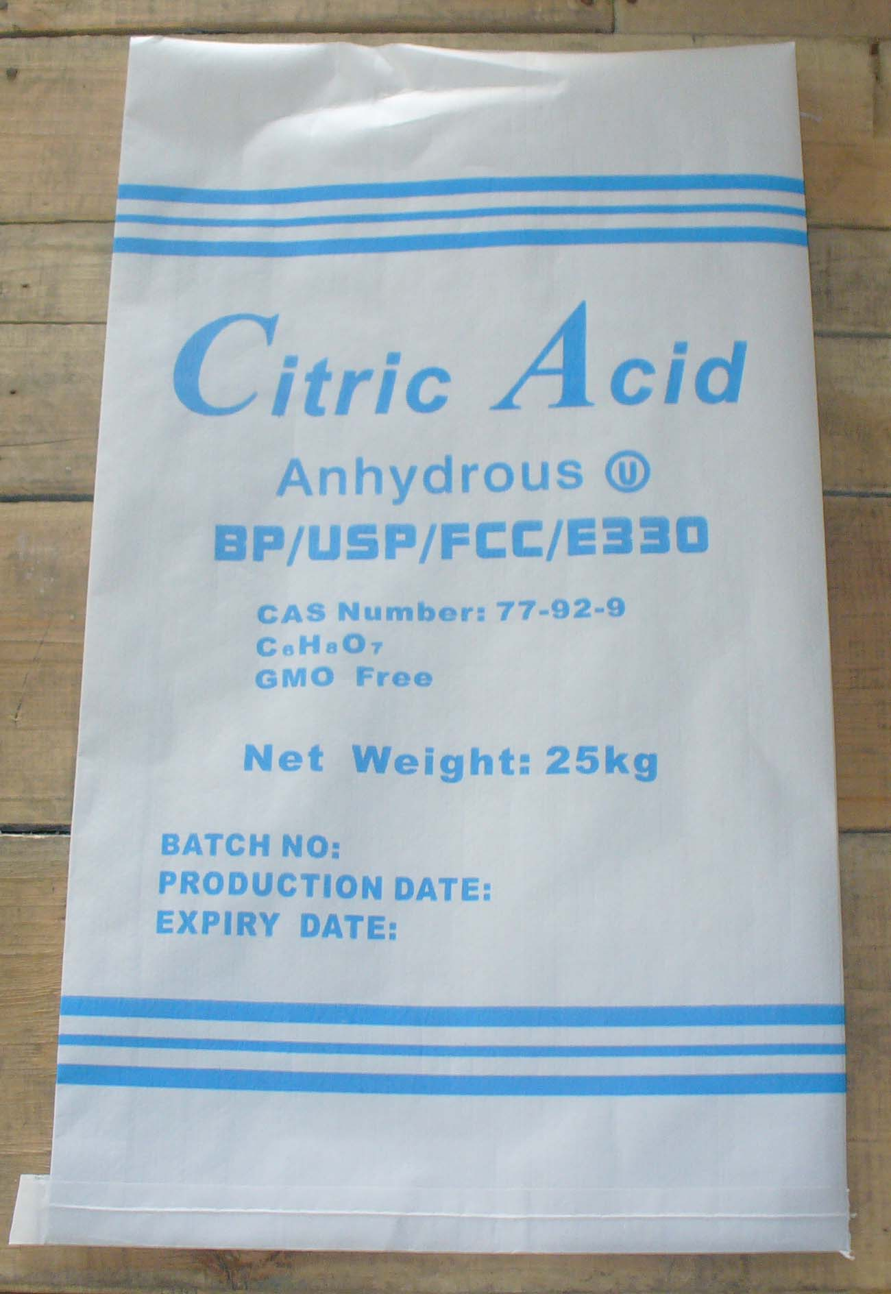 Citric Acid Anhydrouse