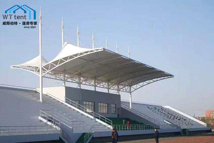 蘇州威斯伯特膜結構篷房體育看臺遮陽棚帳篷廠家