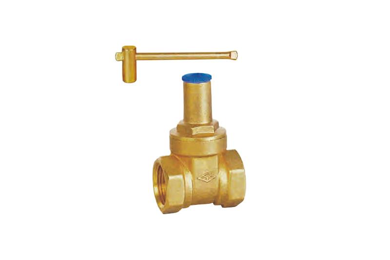 黃銅帶鎖閘閥 Z15W-16T