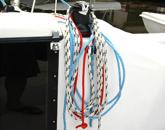 纜繩拴著船舶,才能不會像扇貝一樣亂跑