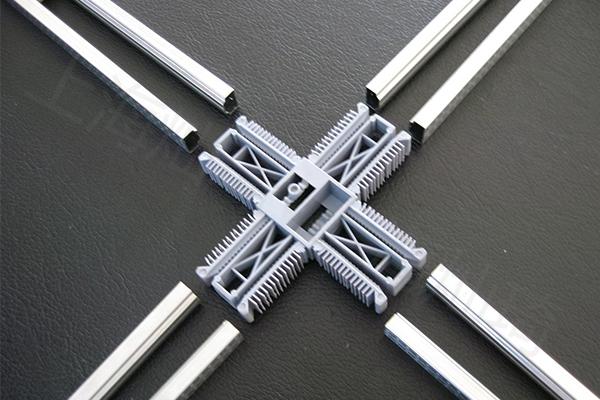鋁條十字連接件