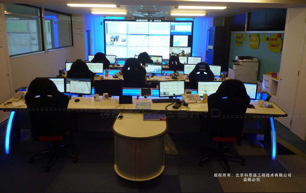 海外 日本某市控制中心项目