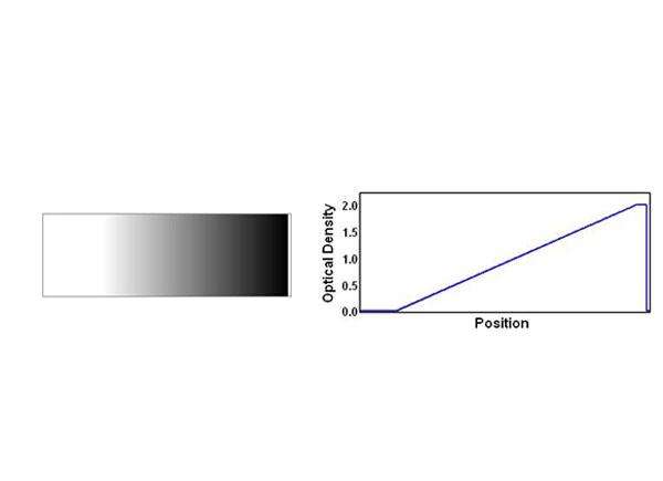条形渐变中性密度滤光片