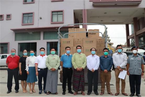 硕世生物助力缅甸政府抗击新冠疫情