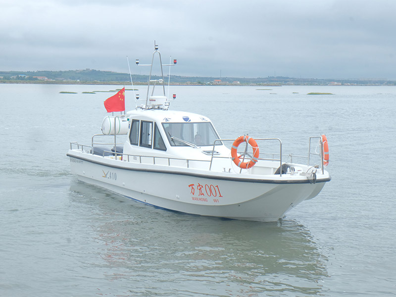 JY410休閑游釣船
