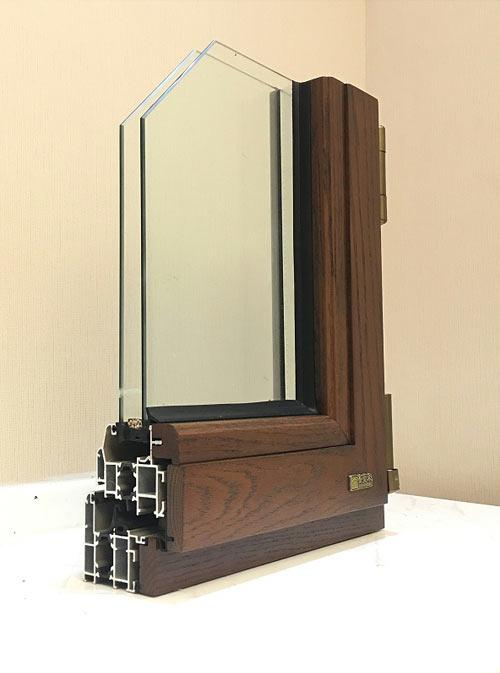 鋁木復合門窗系列-鋁排管