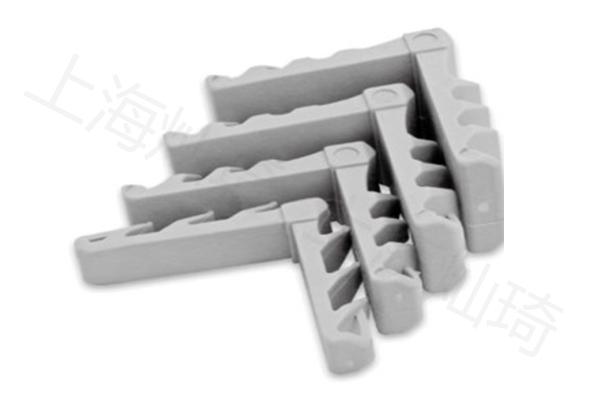 鋁條塑料角插件