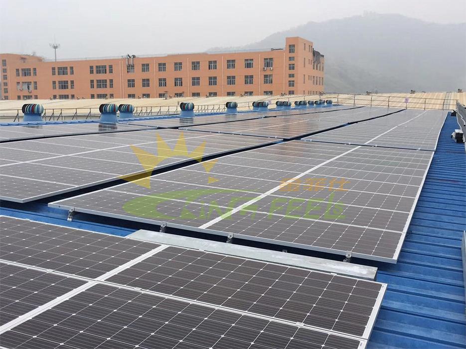 太陽能鋁型材屋頂支架