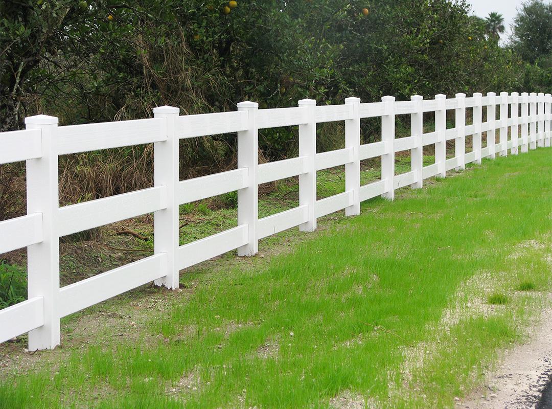 2-Rail Ranch Fence