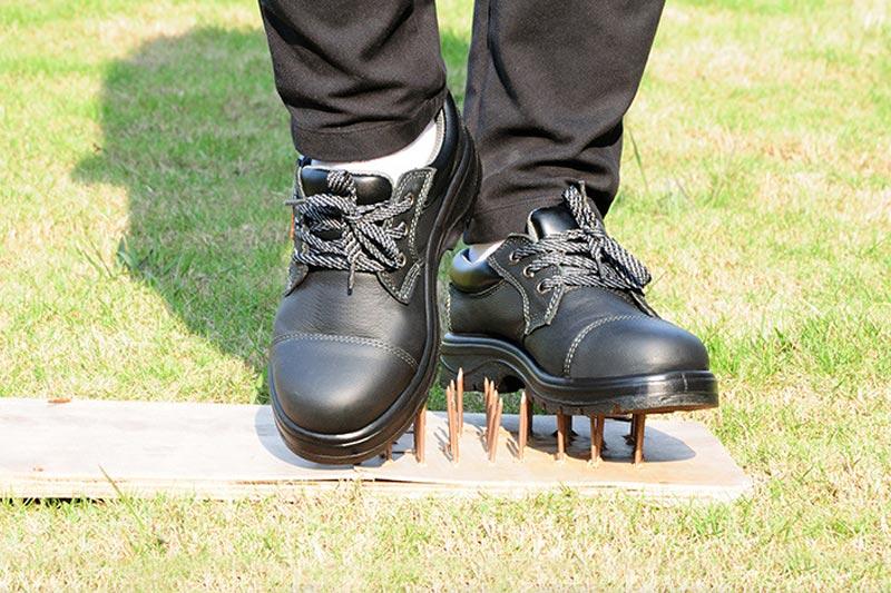 未穿著勞保鞋前容易受到的六種危害