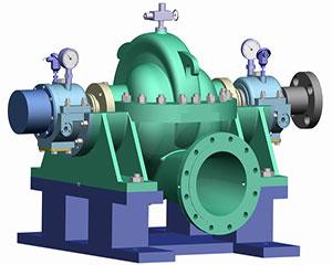 XSR單級雙吸熱網循環泵