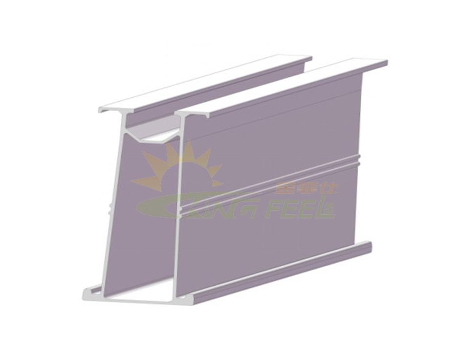 高強度硬度太陽能鋁合金導軌支架