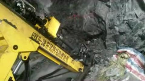 坑道钻施工视频
