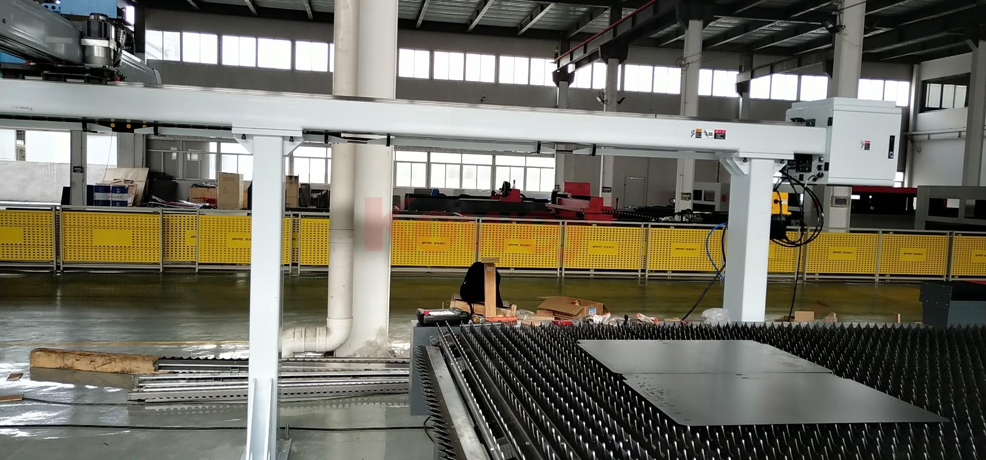 大型激光機自動化應用2