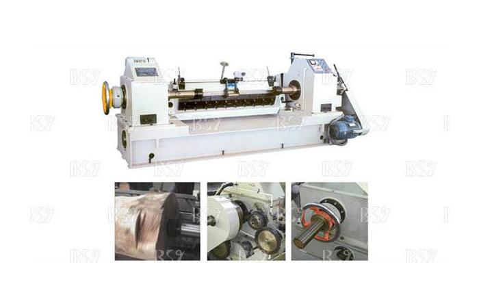BQ1315/5A機械單卡軸旋切機
