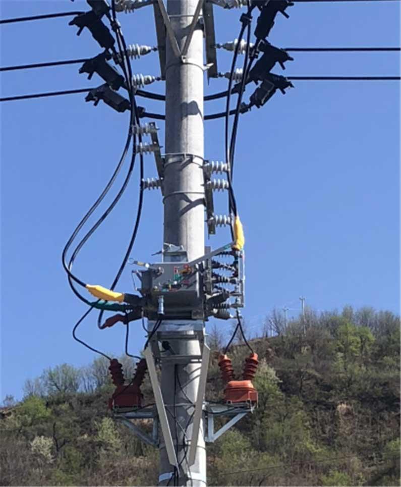 陜西供電公司ZW20柱上斷路器