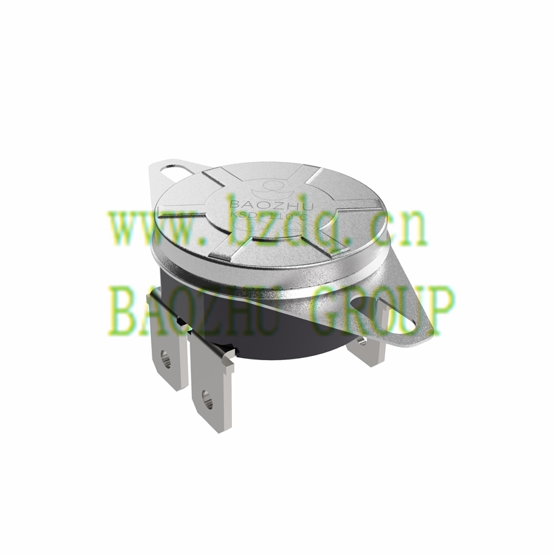 KSD大電流突調式溫控器-四個接線片