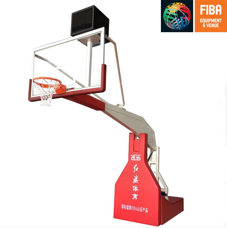 HQ-F10001手動液壓籃球架 FIBA認證