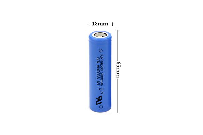 BFN 高容量循环寿命长18650-2600mAh