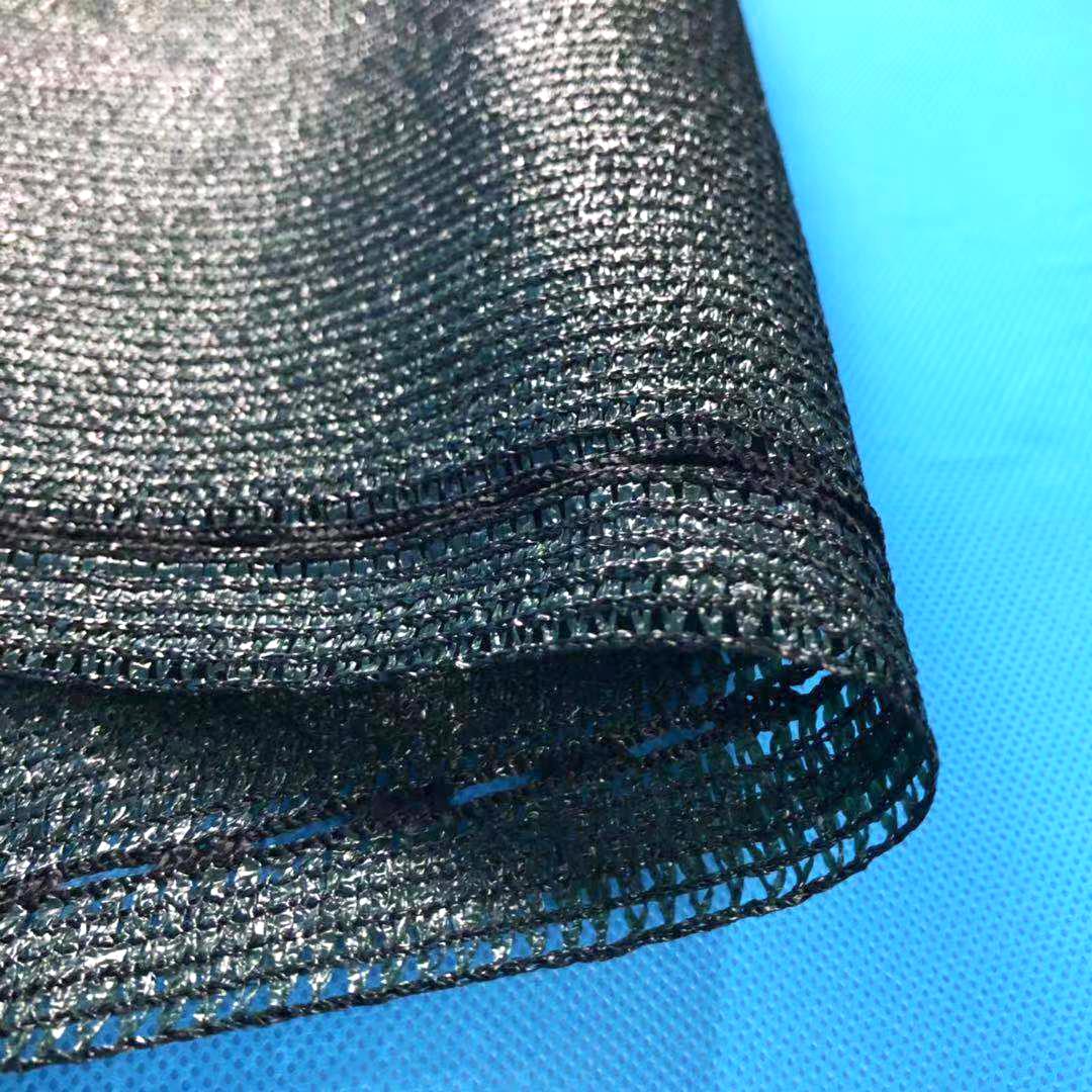 迈希尔6针墨绿色编织遮阳网