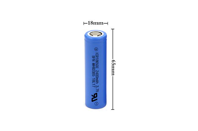 BFN 18650-2400mAh 高容量电池/蓝牙音箱电池
