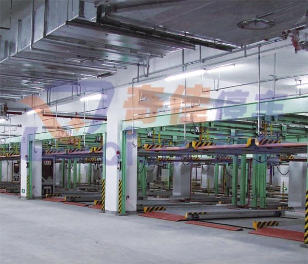 PSHL-2兩層升降橫移類立體車庫-鏈條提升
