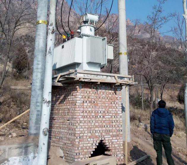 北京供電公司SVR-4000調壓器