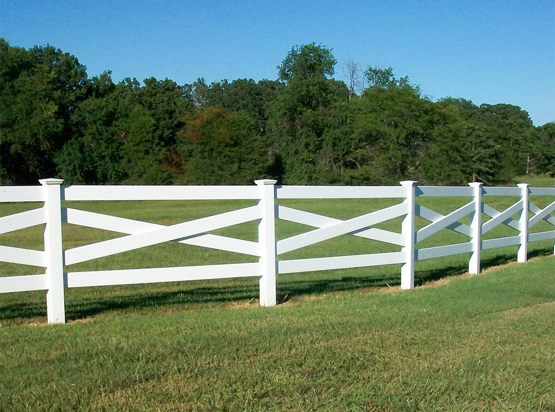Ranch Crossbuck Fence