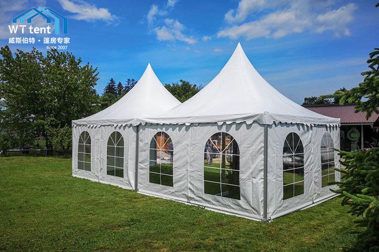 蘇州威斯伯特錐形尖頂活動篷房帳篷廠家定制帳篷