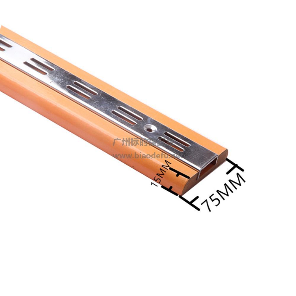 BA-008 带木条长方双孔柱