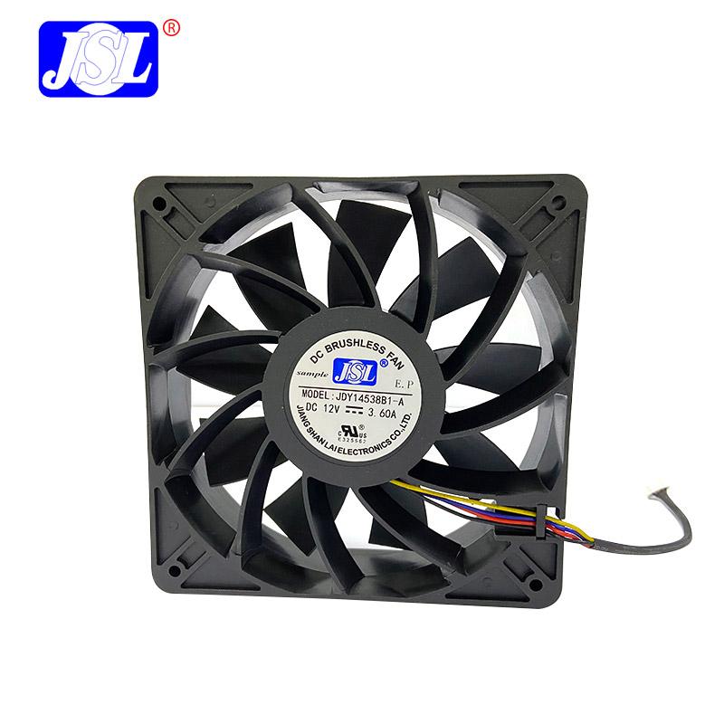 增壓散熱風扇145x145x38mm JSL14538
