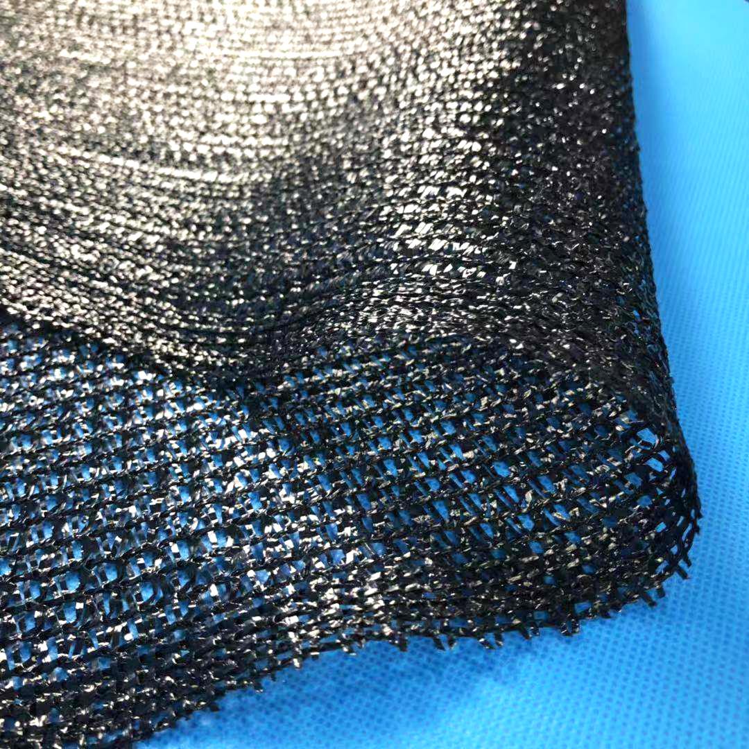 迈希尔3针黑色编织遮阳网