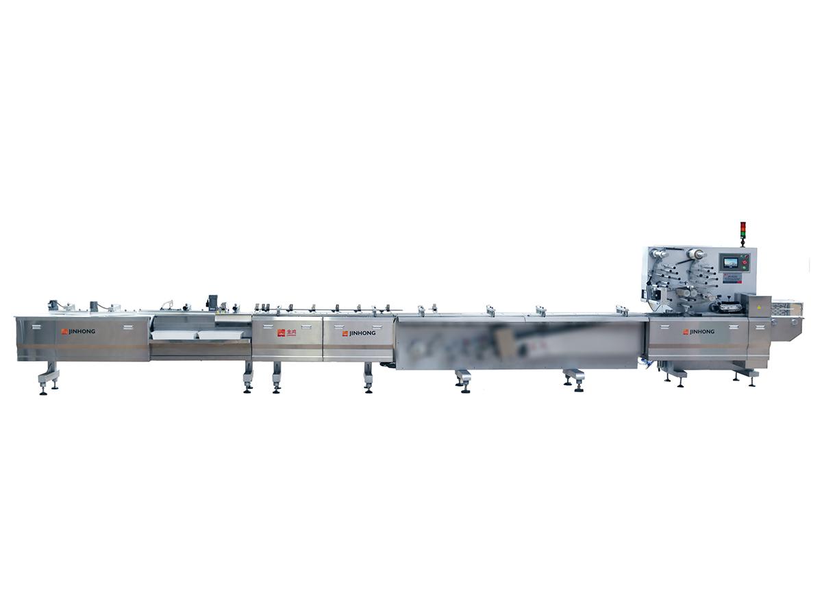 JH-Z1232/JH-Z1233 高速全自動理料枕式包裝機(自動吸紙折紙托)