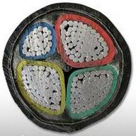7、(阻燃)钢带铠装铝芯聚氯乙烯绝缘聚氯乙烯护套电力电缆