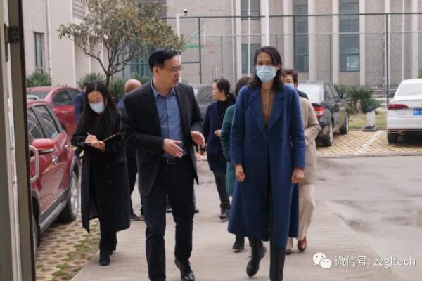 省統計局副局長袁祖霞一行蒞臨光力科技指導工作