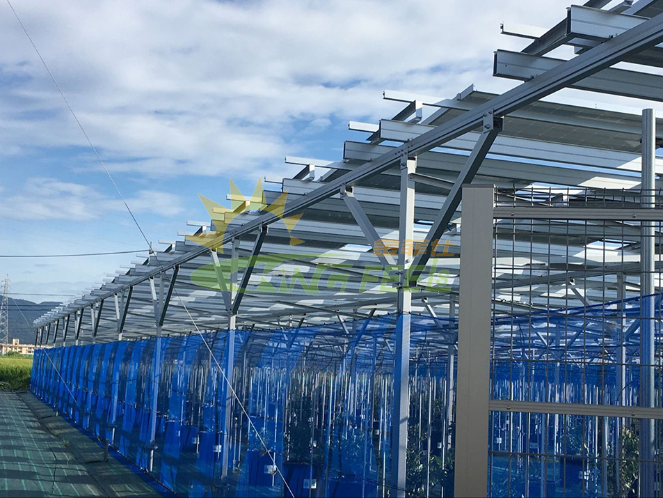 農棚太陽能光伏支架系統