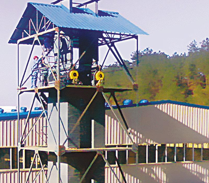 JF401浸膠干燥塔