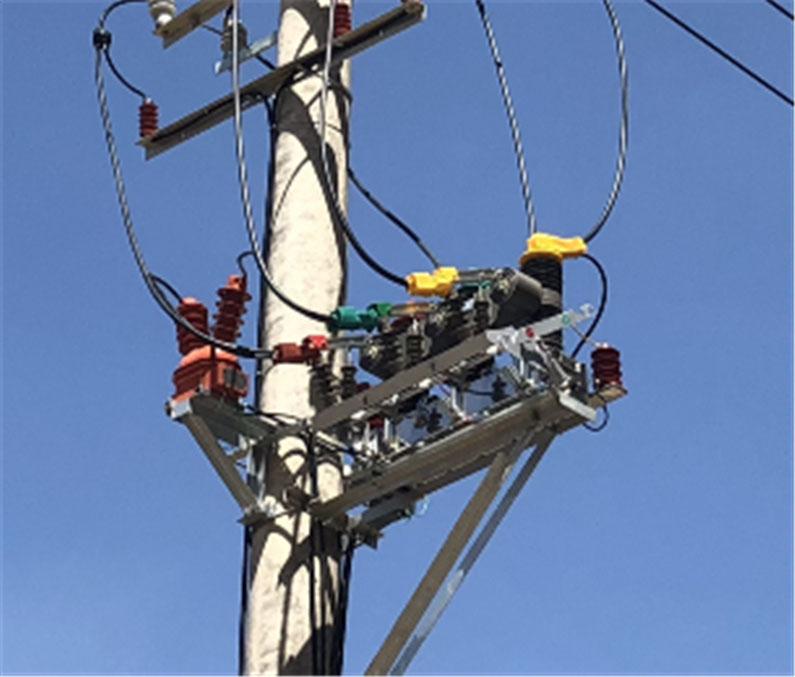 陜西供電公司ZW32柱上斷路器