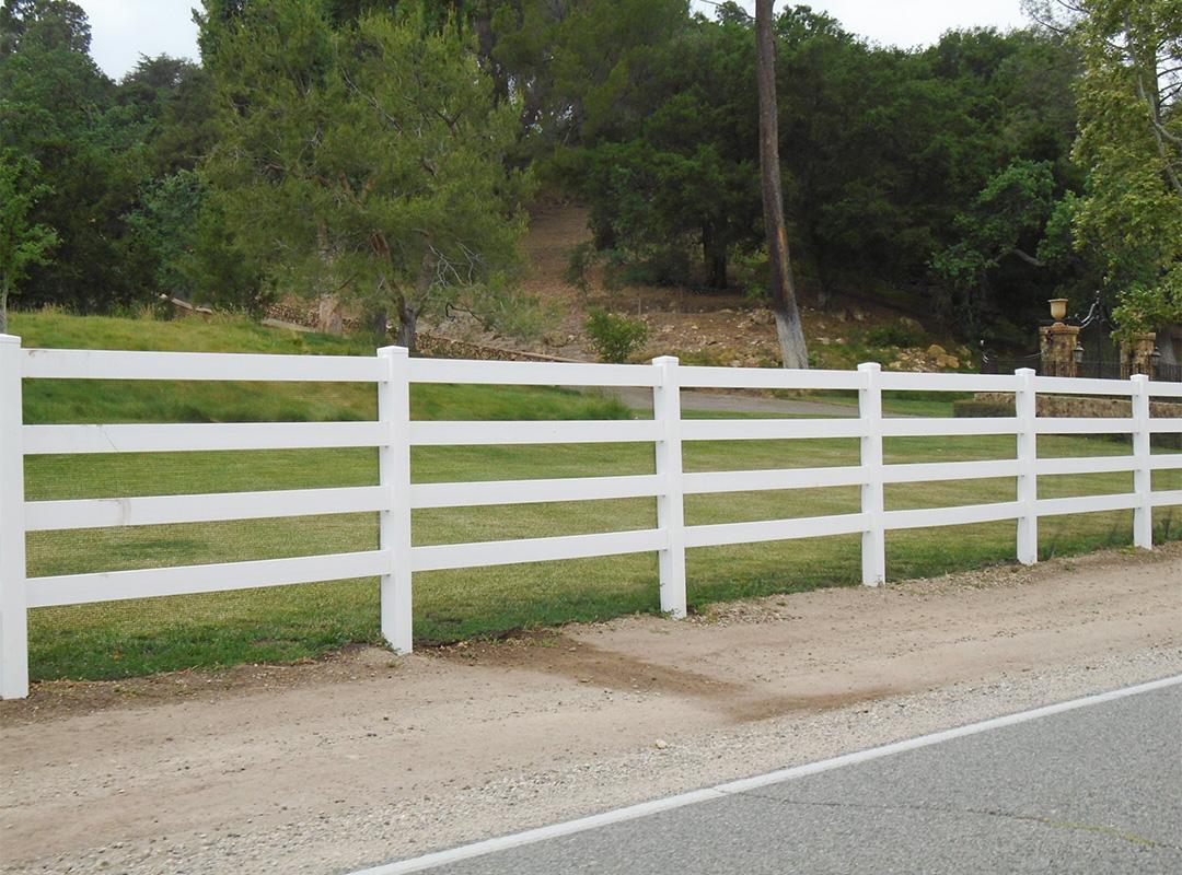 3-Rail Ranch Fence